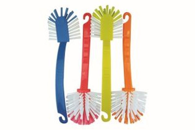 Wash Up Brush FAN Red