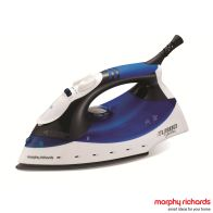 See more information about the Morphy Richards Turbo Steam With Diamond Soleplate Iron 2KW - Blue