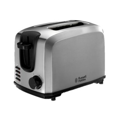 Image of Russell Hobbs Compact Toaster 2 Slice - Stainless Steel