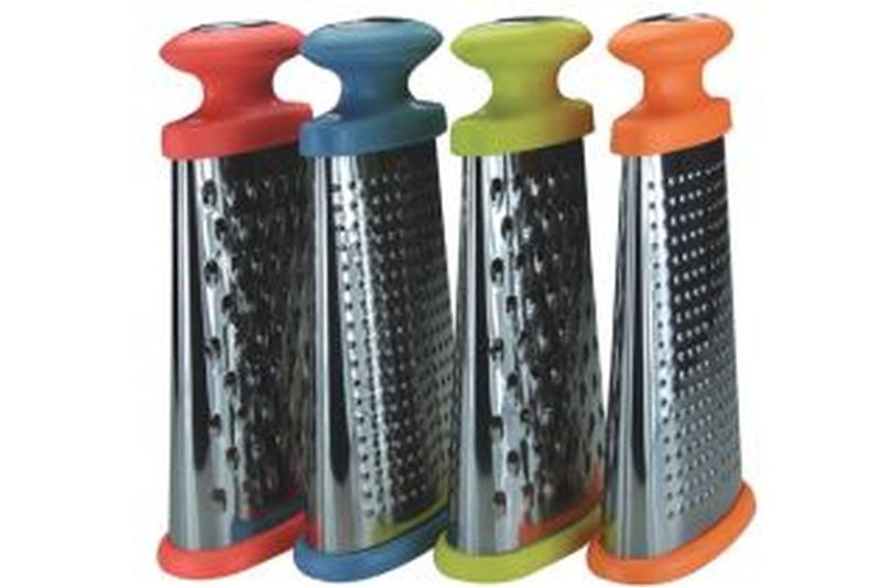 Splash Stainless Steel Mini Grater Orange