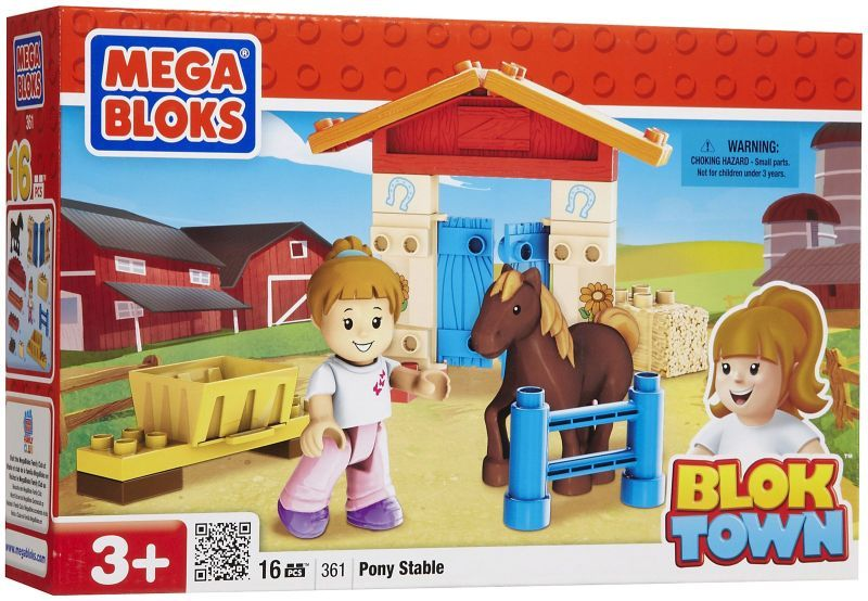 Bloktown Basic Playset Pony Stable
