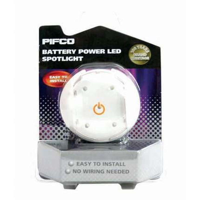 pifco battery powered led spotlight 50720 buy online at. Black Bedroom Furniture Sets. Home Design Ideas