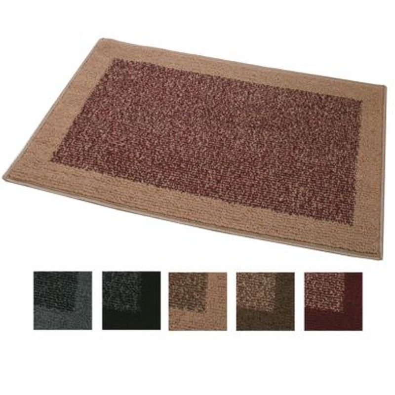 Madras Mat Cream Brown