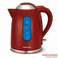See more information about the Morphy Richards Accents Dome Kettle Red 102504