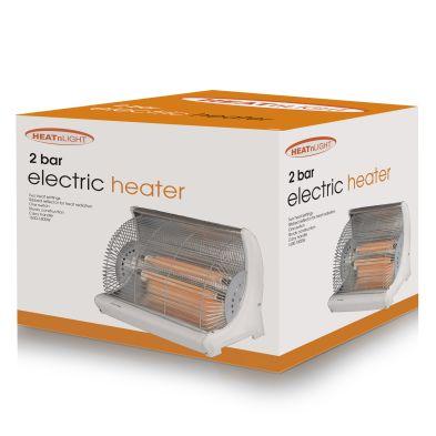 Heat and Light Radiant 2 Bar Heater HL02