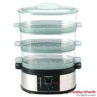 See more information about the Morphy Richards 3 Tier Steamer 48755