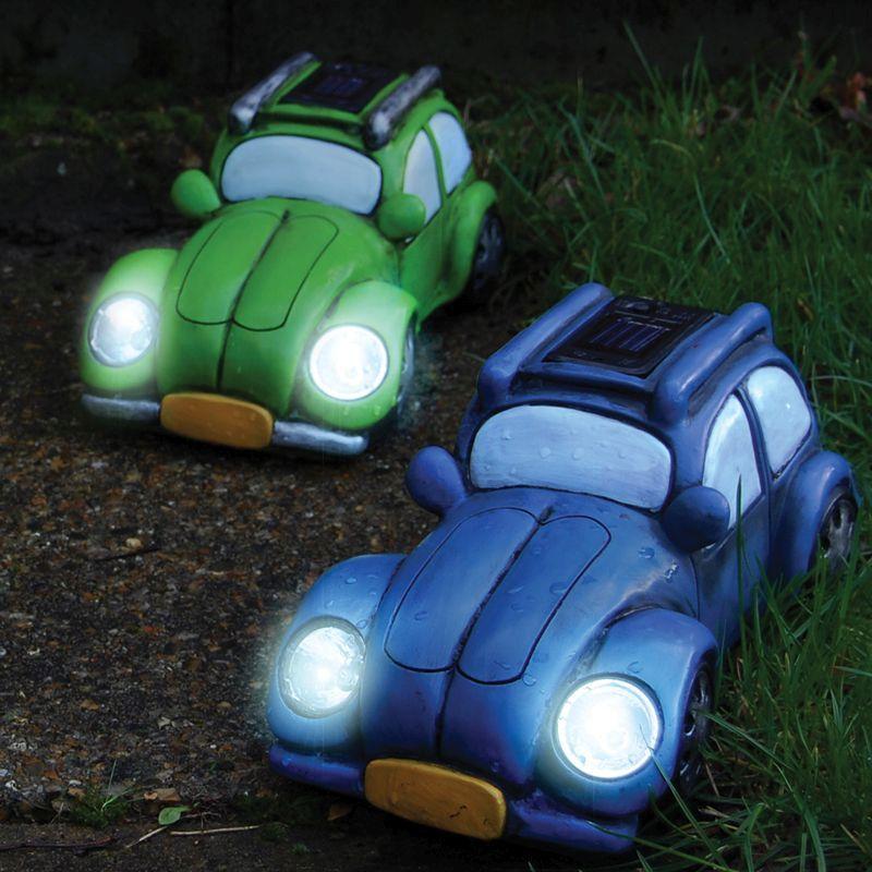 vw beetle light green