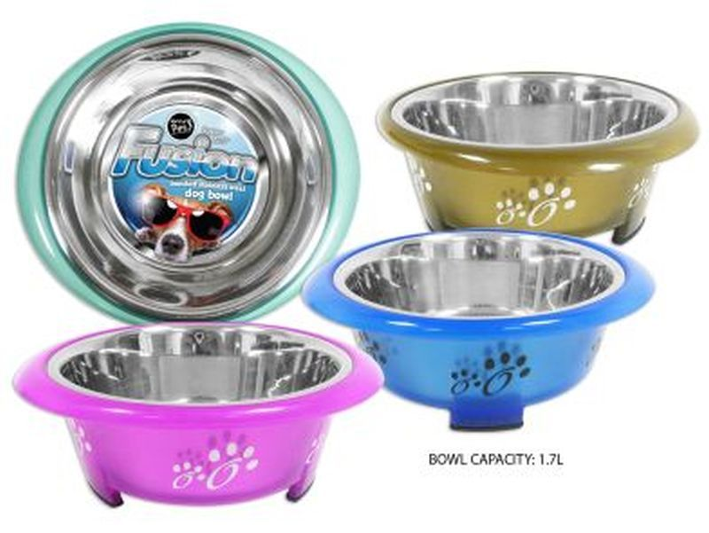 Happy Pet Fusion Dog Bowl 21cm