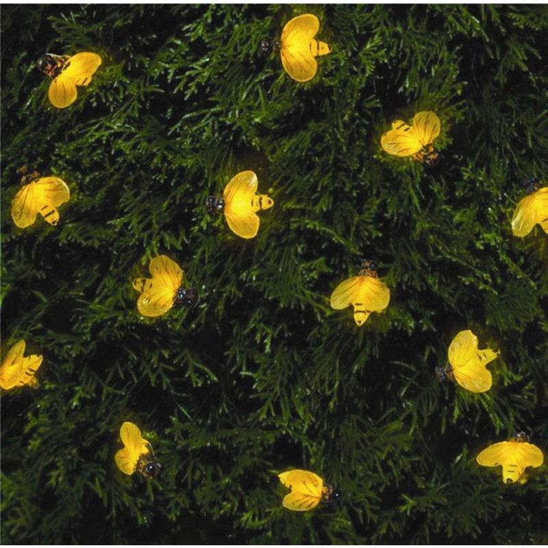 20pk Solar Lights Bumble Bee Buy Online At Qd Stores