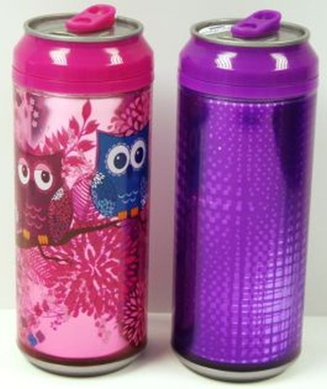 Buy cool gear drinks can girls 16oz owl online at qd for Cool homeware uk