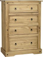 See more information about the Corona 4 Drawer Chest