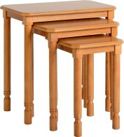 See more information about the Brunton Nest of Tables - ANTIQUE PINE