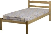 See more information about the Panama Single Bed - Natural Wax