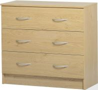 See more information about the Bellingham 3 Drawer Chest - BEECH