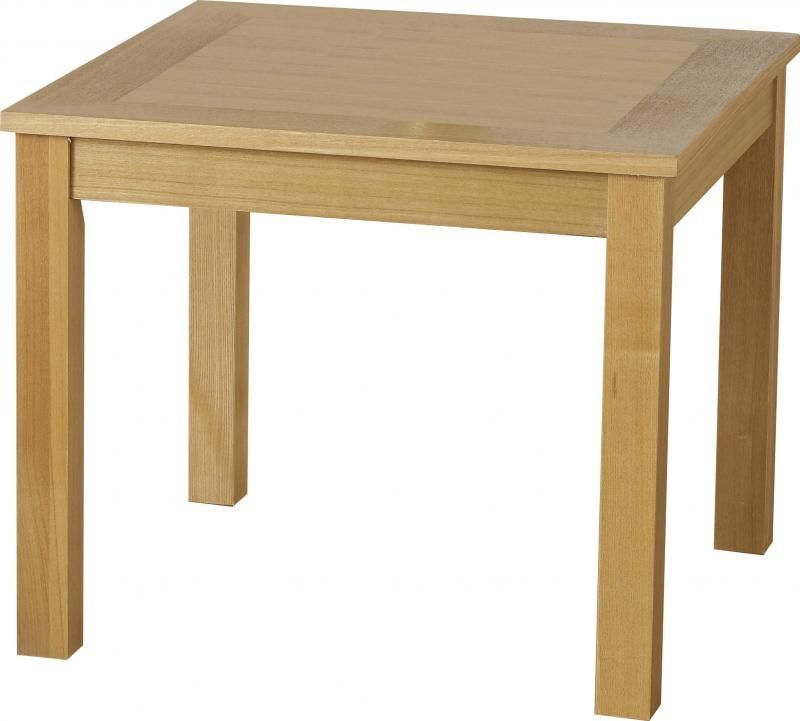 Oakleigh Lamp Table - NATURAL OAK VENEER