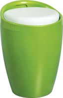See more information about the Wizard Storage Stool - GREEN/WHITE