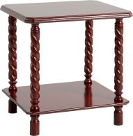 See more information about the Brunton Lamp Table - MAHOGANY