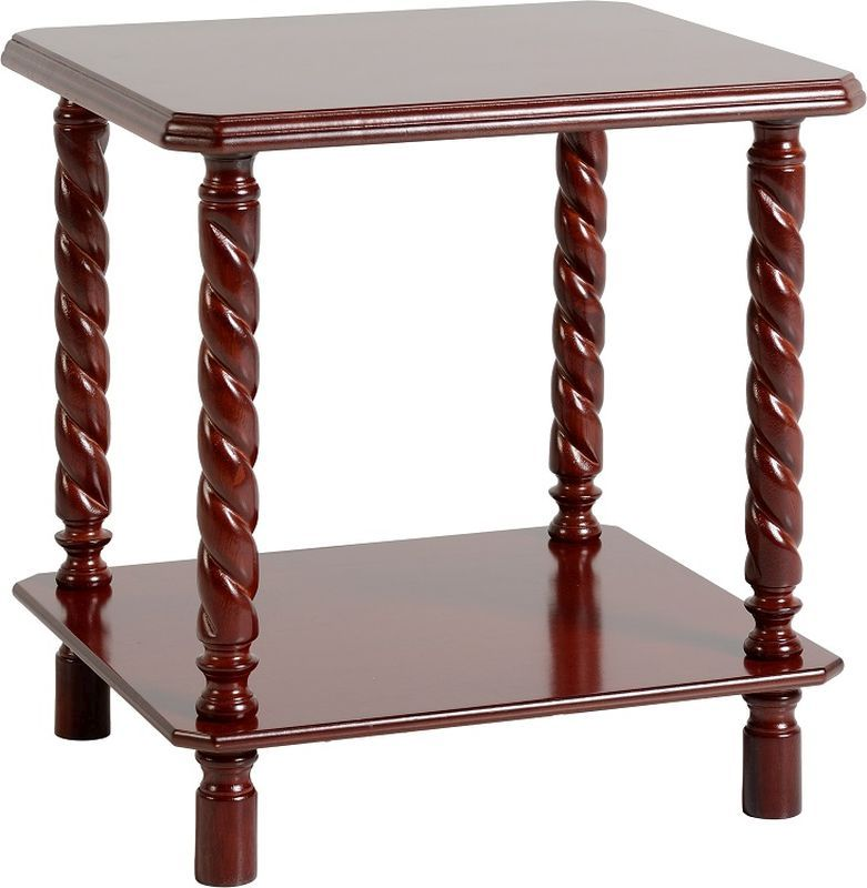 Brunton Lamp Table - MAHOGANY