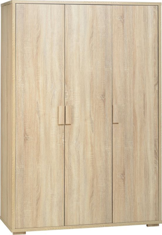 Cambourne 3 Door Wardrobe - SONOMA OAK