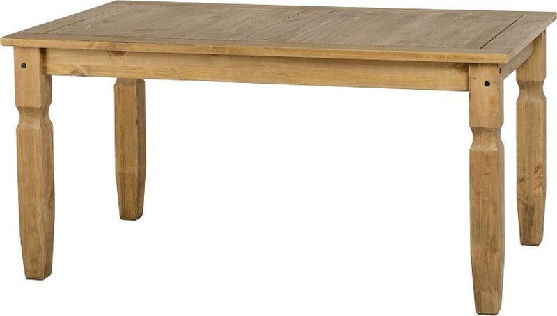 Corona 5' Dining Table - DISTRESSED WAXED PINE
