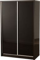See more information about the Charisma 2 Door Sliding Wardrobe -BLACK GLOSS