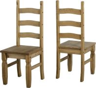 See more information about the Corona Wood Style Dining Chair - DWP