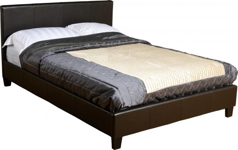 Prado Small Double Bed - Expresso Brown