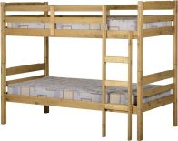 See more information about the Panama Single Bunk Bed - Natural Wax