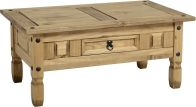 See more information about the Corona 1 Drawer Coffee Table