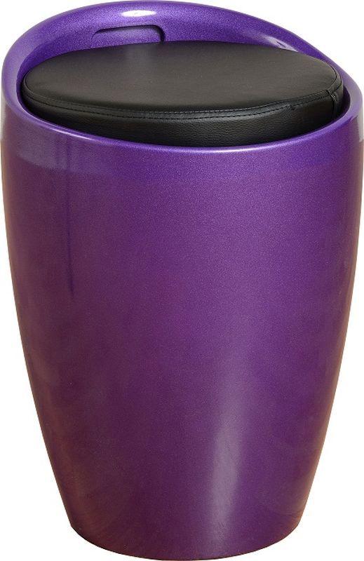 Wizard Storage Stool Purple Black Buy Online At Qd Stores