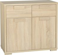 See more information about the Cambourne 2 Door 2 Drawer Sideboard - SONOMA OAK