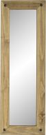 See more information about the Corona Long Wall Mirror - DISTRESSED WAXED PINE