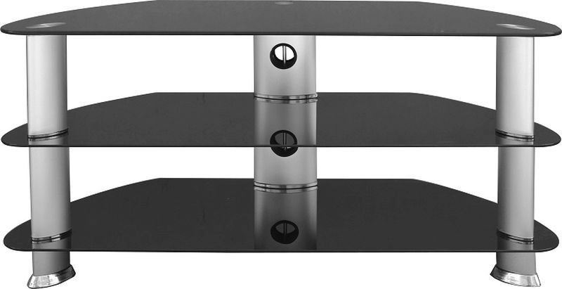 Harley TV Stand - SILVER/BLACK GLOSS