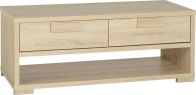 See more information about the Cambourne 2 Drawer Coffee Table - SONOMA OAK