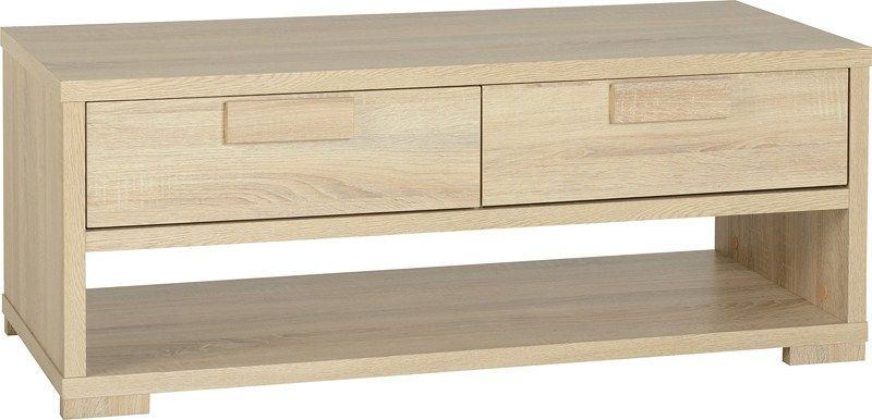 Cambourne 2 Drawer Coffee Table - SONOMA OAK