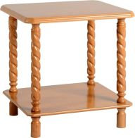 See more information about the Brunton Lamp Table - ANTIQUE PINE