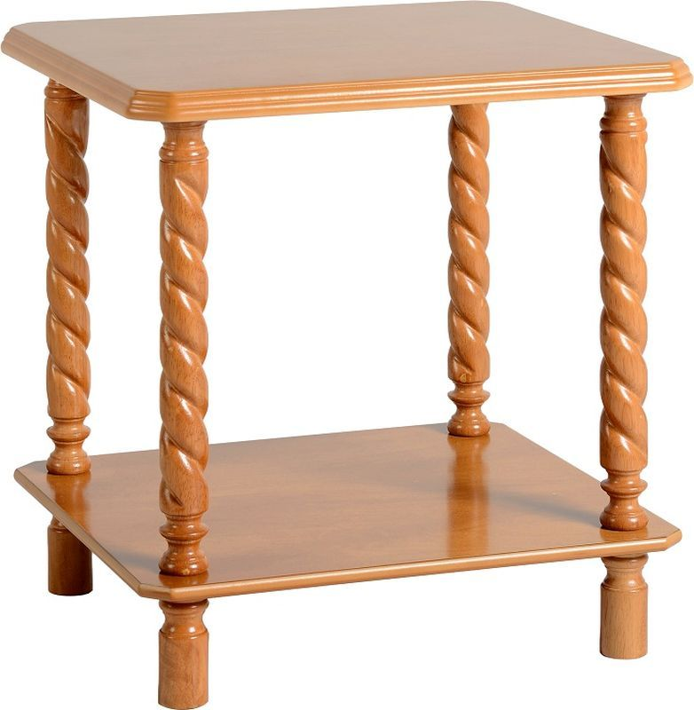 Brunton Lamp Table - ANTIQUE PINE