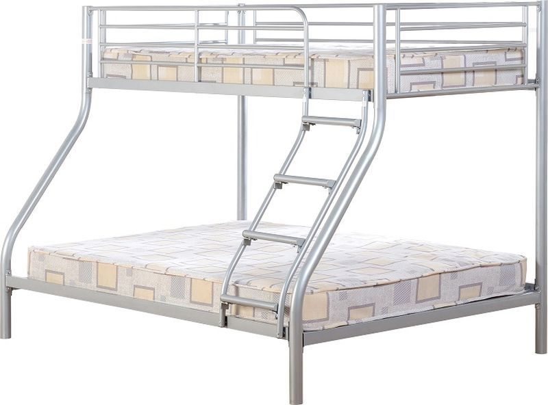Tandi Triple Sleeper Bunk Bed - Silver