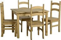 See more information about the Budget Mexican Dining Set - DISTRESSED WAXED PINE