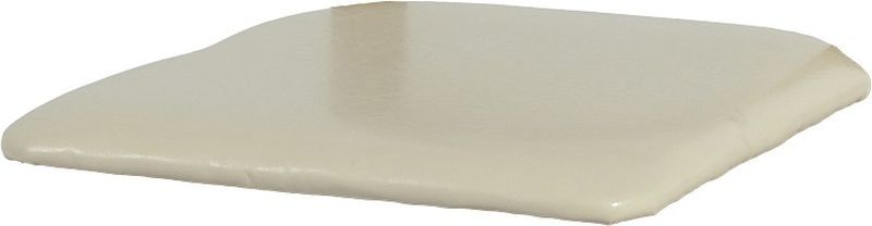 Faux Leather Seat Pad - CREAM