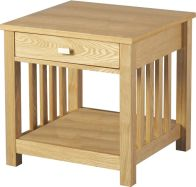 See more information about the Ashmore 1 Drawer Lamp Table