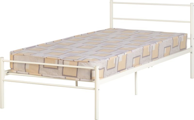 Devon Single Bed - White
