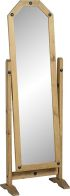 See more information about the Corona Cheval Mirror - DISTRESSED WAXED PINE