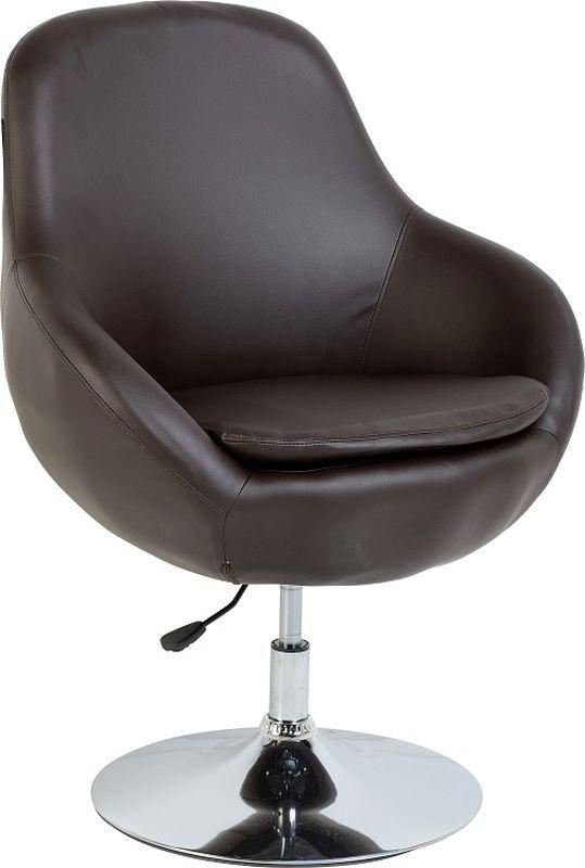 austin swivel tub chair brown chrome buy online at qd stores