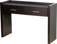 See more information about the Denver Dressing Table (2 Drawer ) - EXPRESSO BROWN