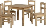 See more information about the Panama Dining Set - NATURAL WAX