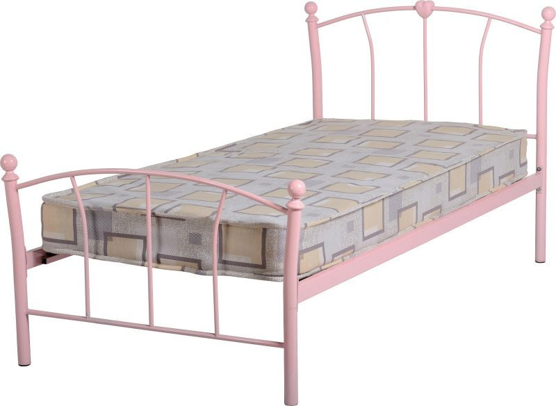 Caitlin Single Bed - Pink