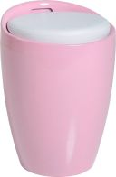 See more information about the Wizard Storage Stool - PINK/WHITE