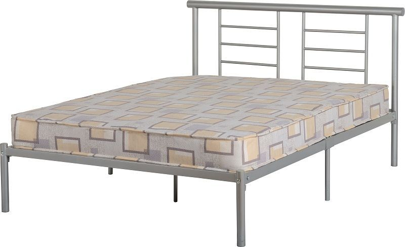 Lynx Double Bed - Silver