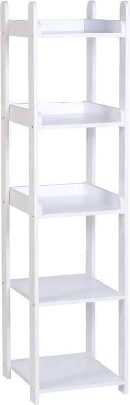 Lollipop 5 Shelf Unit - WHITE/WHITE
